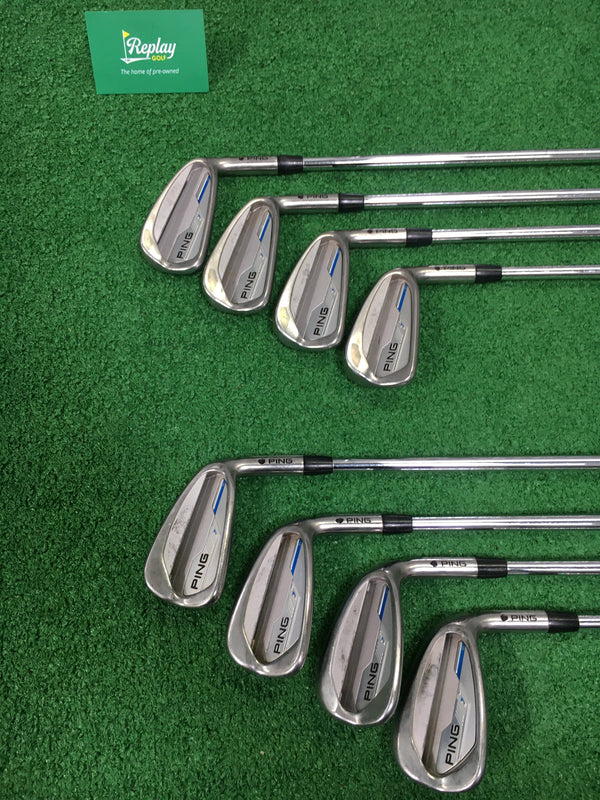 Ping iE1 Iron Set / 3 - PW +GW / N.S Pro Modus Tour 120 X-Stiff Flex / NO 8 IRON