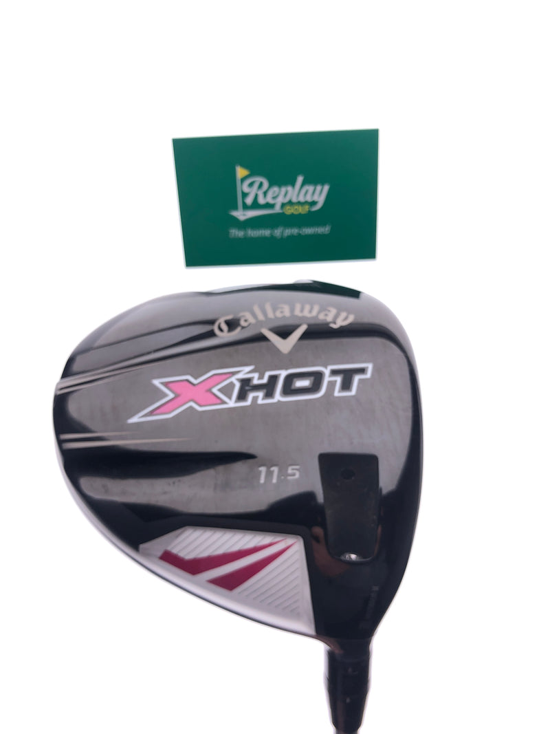 Callaway X Hot Womens 2013 Driver / 11.5 Degrees / Ladies Flex / -3 Inch - Replay Golf