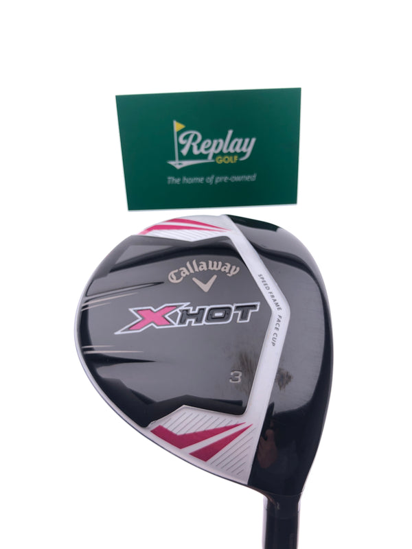 Callaway 2013 X Hot Womens 3 Fairway Wood / 15 Degrees /  Ladies Flex