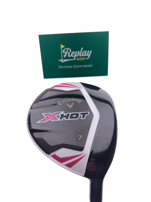 Callaway 2013 X Hot Womens 7 Fairway Wood / 21 Degrees / Ladies Flex - Replay Golf