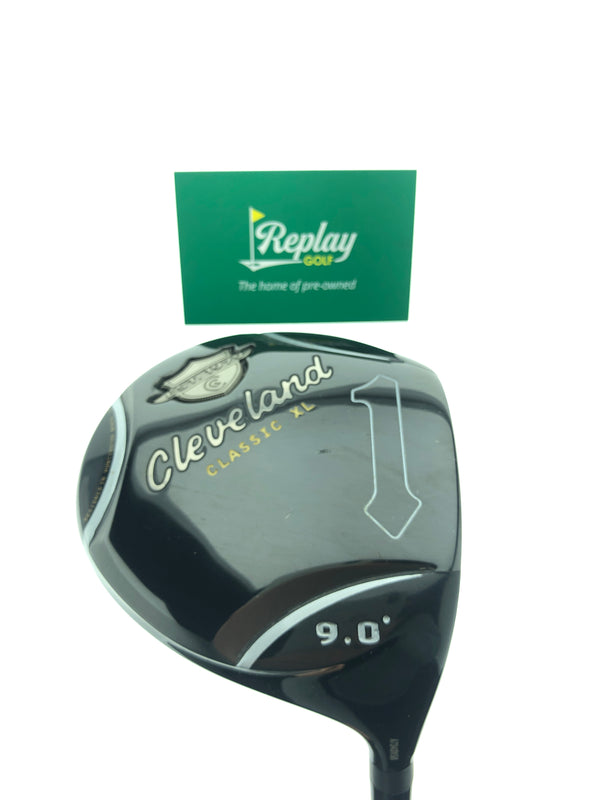 Cleveland Classic XL Driver / 9.0 Degrees / Miyazaki 4S Stiff Flex - Replay Golf