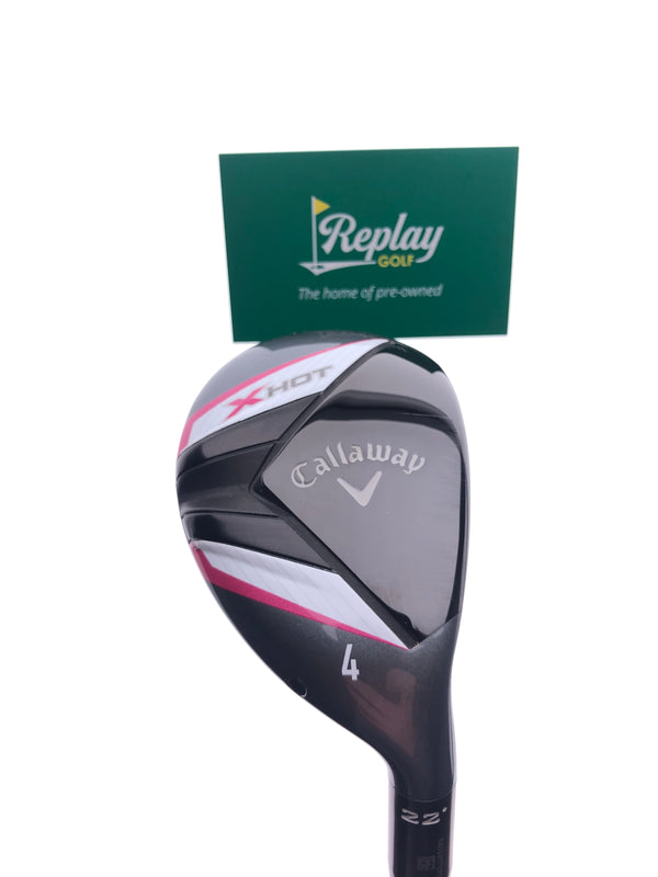 Callaway 2013 X Hot Womens 4 Hybrid / 22 Degrees / Ladies Flex - Replay Golf