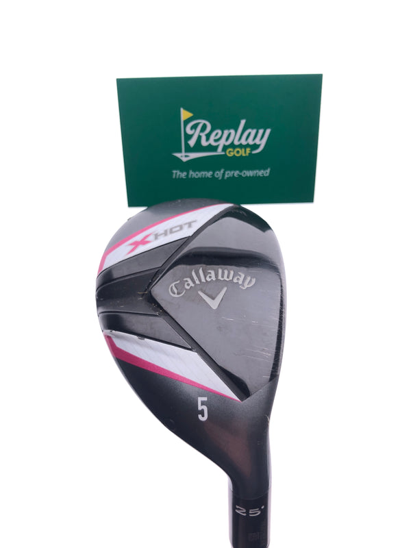 Callaway 2013 X Hot Womens 5 Hybrid / 25 Degrees / Ladies Flex - Replay Golf