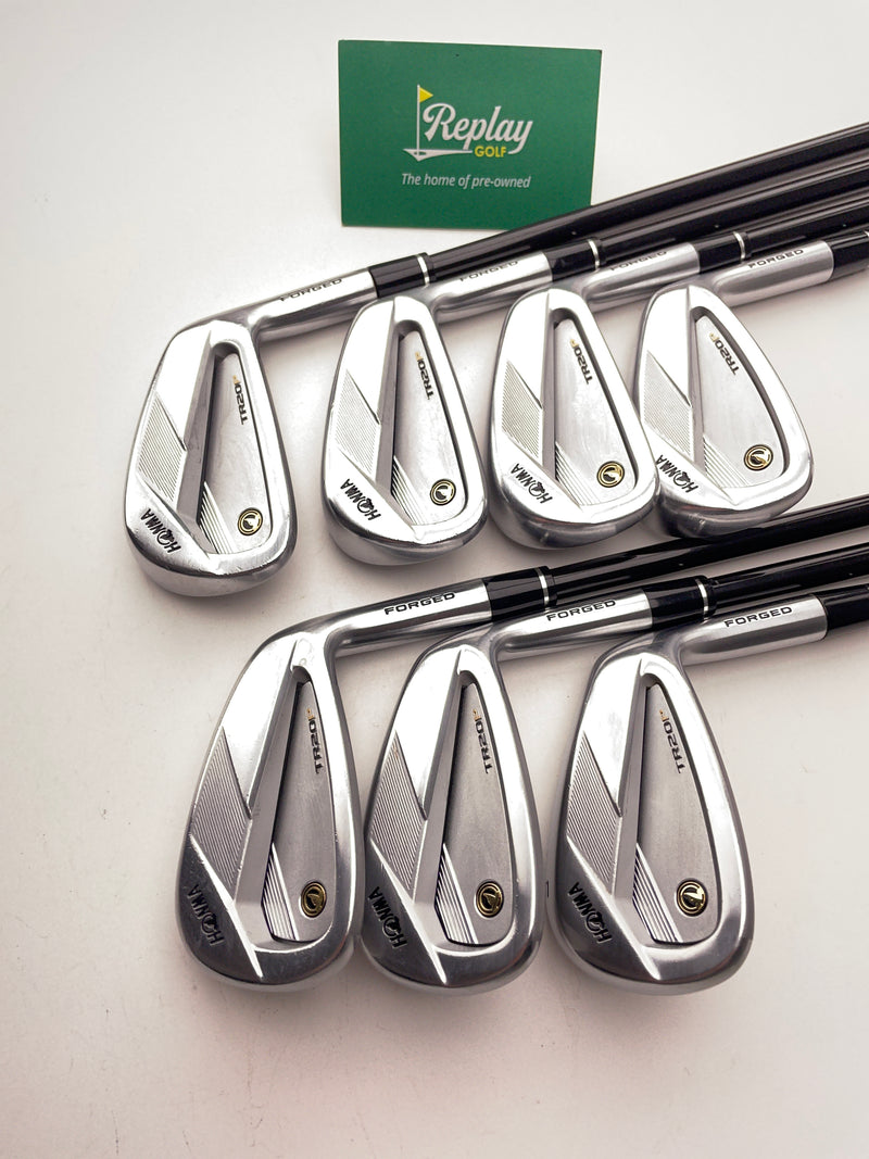 Honma TR20 P Iron Set / 5 - 11 / Graphite Vizard TR20 65 Regular Flex - Replay Golf