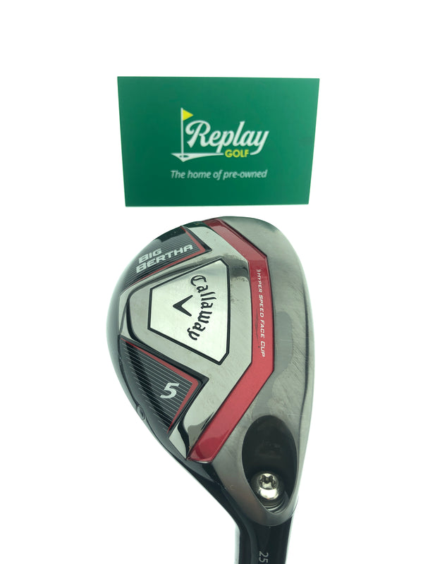 Callaway 2015 Big Bertha 5 Hybrid / 25 Degrees / Recoil 460 F2 Senior Flex