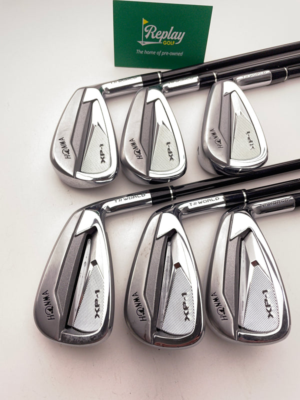 Honma XP-1 Iron Set / 5 - 10 / Graphite Vizard 43 Regular Flex - Replay Golf