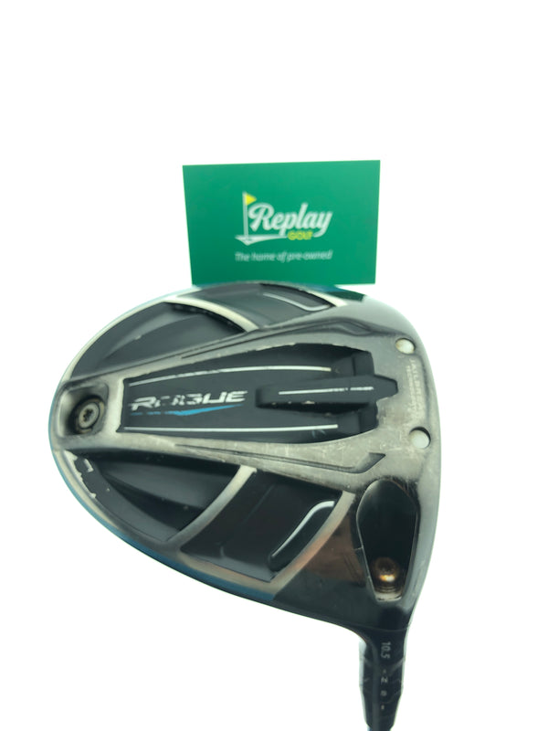 Callaway Rogue Driver / 10.5 Degrees / Project X Even Flow Stiff Flex - Replay Golf