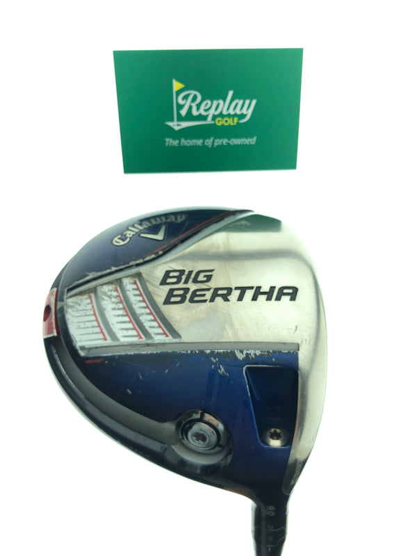 Callaway 2014 Big Bertha Driver / 9.0 Degrees / Fubuki Z50 Stiff Flex - Replay Golf