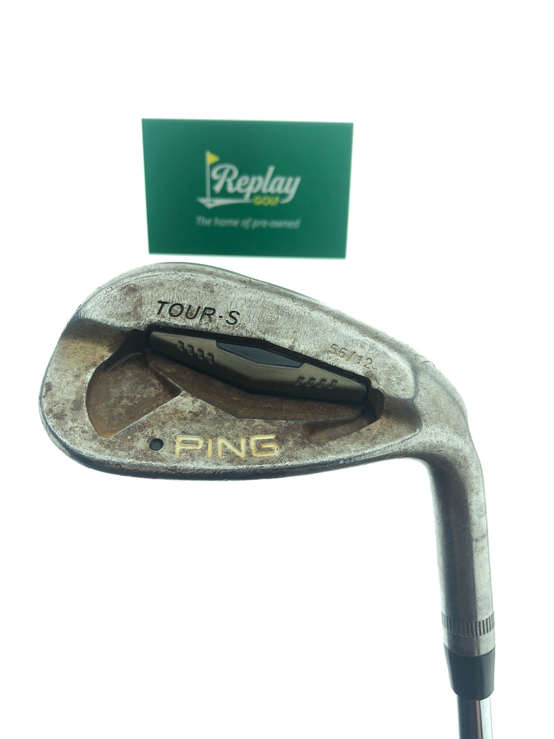 Ping Tour-S Rustique Sand Wedge / 56 Degrees / Dynamic Gold S300 Stiff Flex - Replay Golf