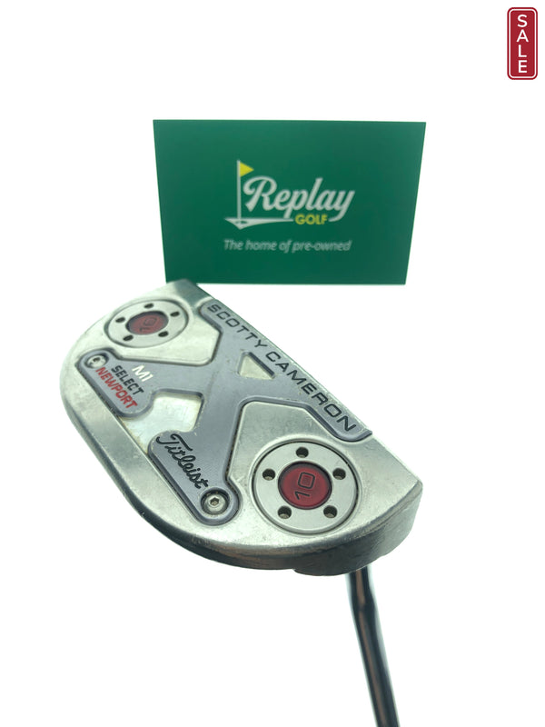 Scotty Cameron Select Newport Putter / 35 Inch - Replay Golf