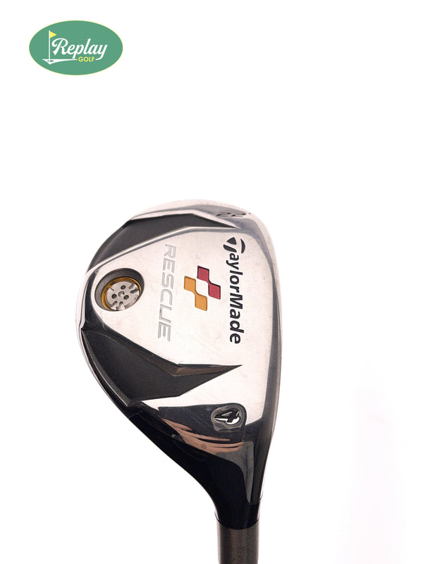 TaylorMade Rescue 2009 4 Hybrid / 22 Degrees / REAX 65 R Regular Flex - Replay Golf