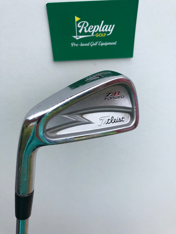 Titleist ZB Forged #4 Iron / Project X 5.5 Regular Flex / LEFT Handed - Replay Golf