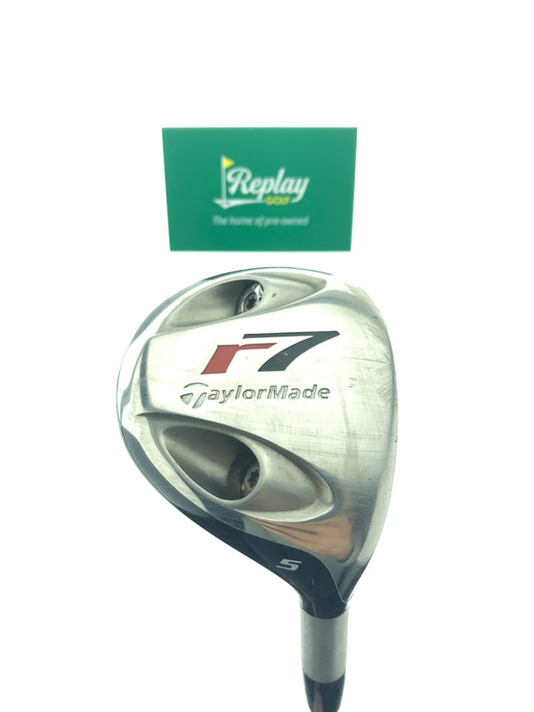 TaylorMade R7 TP 5 Fairway Wood / 17.5 Degrees / Fujikura TP Stiff Flex - Replay Golf