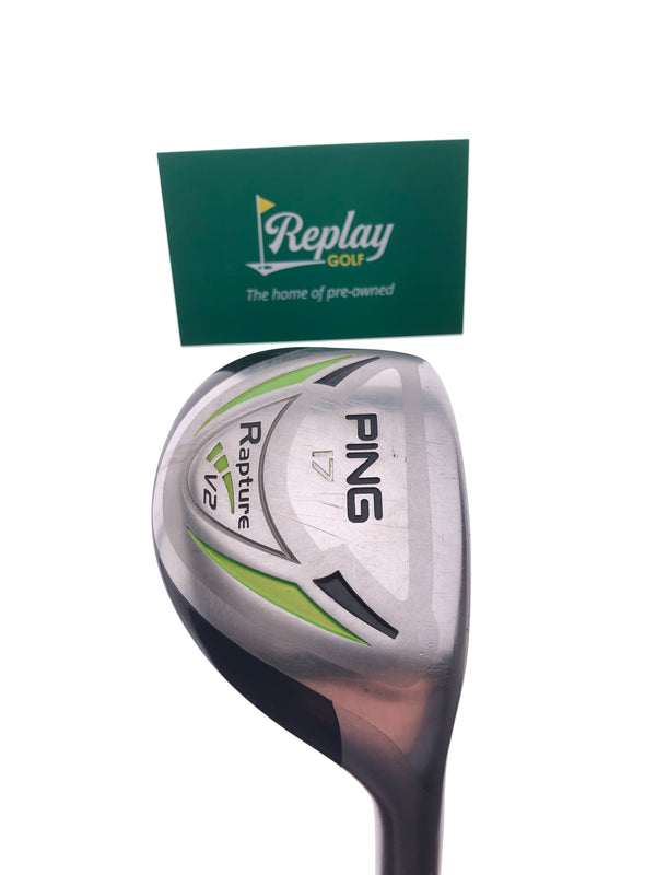 Ping Rapture V2 2 Hybrid / 17 Degrees / Ping TFC 939 Stiff Flex - Replay Golf