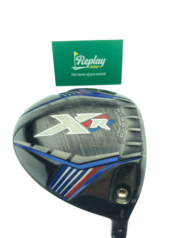 Callaway XR Driver / 10.5 Degrees / Fujikura Pro 60 Senior Flex - Replay Golf