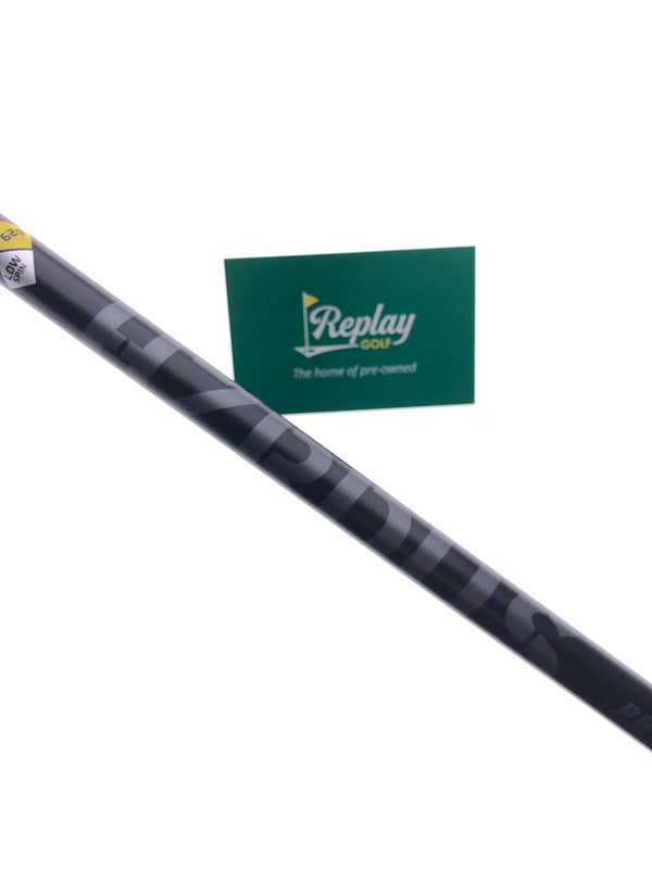 Project X HZRDUS Black Hand Crafted 6.0 Driver Shaft / Stiff Flex / Srixon LH Tip - Replay Golf