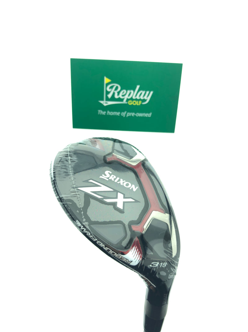 NEW Srixon ZX 3 Hybrid / 19 Degrees / Project X HZRDUS Smoke 6.0 Stiff Flex - Replay Golf