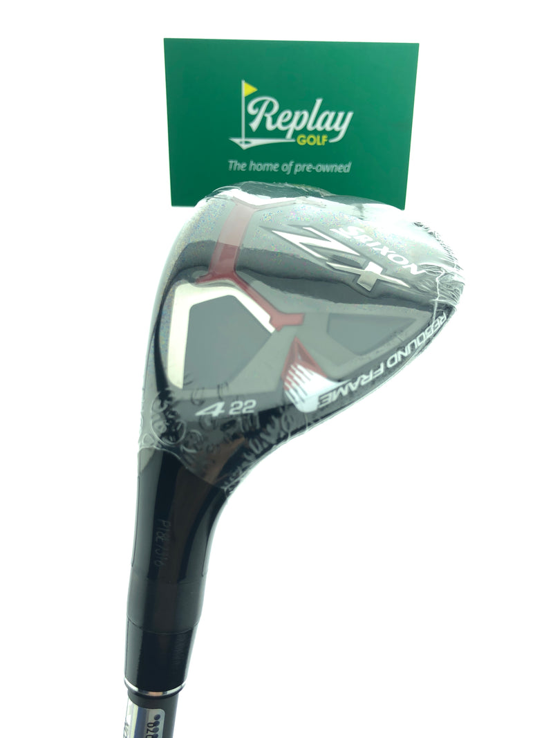 NEW Srixon ZX 4 Hybrid / 22 Degree / HZRDUS Smoke 5.5 Regular Flex / LEFT Hand - Replay Golf