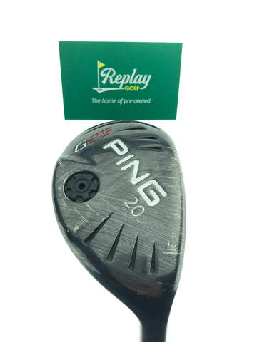Ping G25 3 Hybrid / 20 Degrees / Ping TFC 189 Stiff Flex - Replay Golf