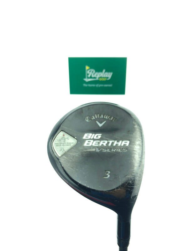 Callaway Big Bertha V Series 3 Fairway Wood / 15 Degrees / Bassara 52  Regular Flex - Replay Golf