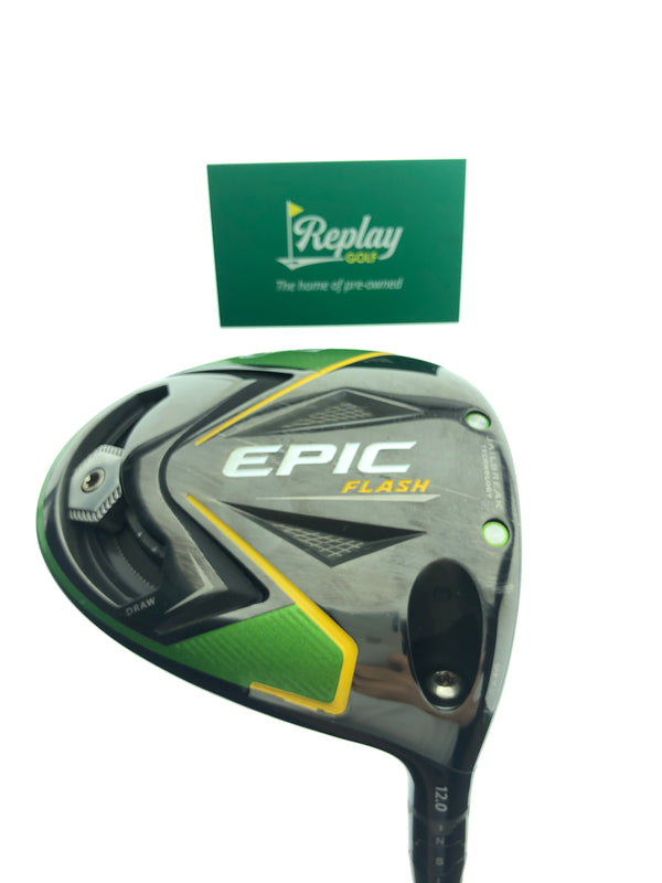 Callaway EPIC Flash Driver / 12.0 Degrees / Fujikura Pro 53 Stiff Flex - Replay Golf