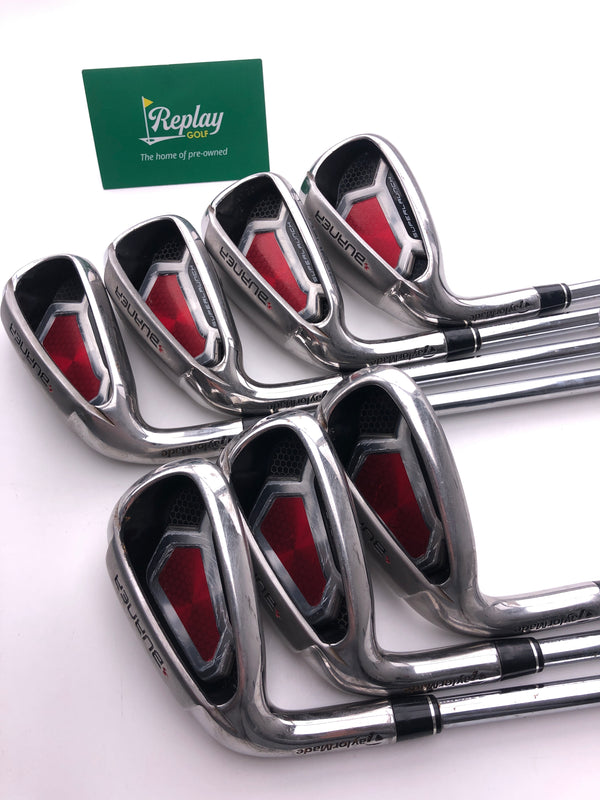 TaylorMade Burner Superlaunch Irons / 5-SW / Burner 85 Regular Flex / LEFT Hand - Replay Golf