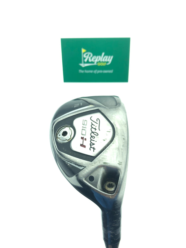 Titleist 910 H 3 Hybrid / 21 Degrees / Diamana Ilima 70 HYB Regular Flex - Replay Golf