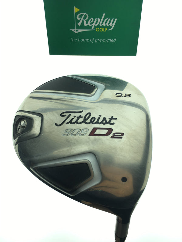 Titleist 909 D2 Driver / 9.5 Degrees / Grafalloy ProLaunch Red Stiff Flex - Replay Golf