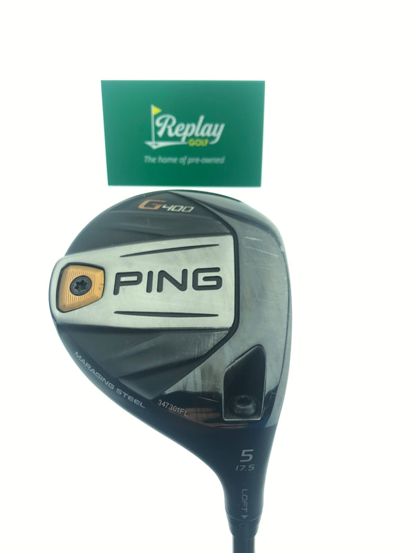 Ping G400 5 Fairway Wood / 17.5 Degrees / ALTA CB 65 Regular Flex