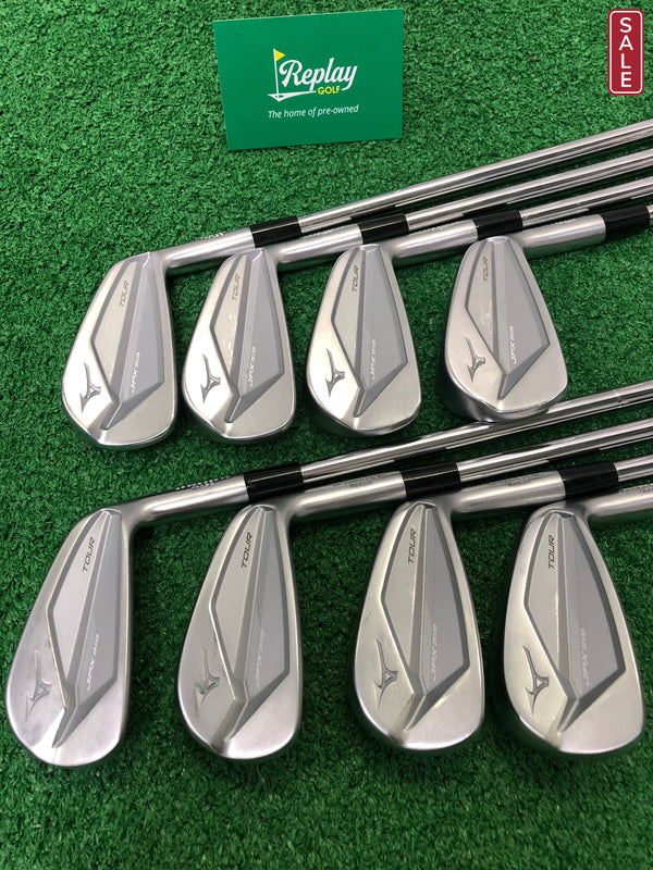 Mizuno JPX 919 Tour Iron Set / 3-PW / KBS Tour Regular Flex - Replay Golf