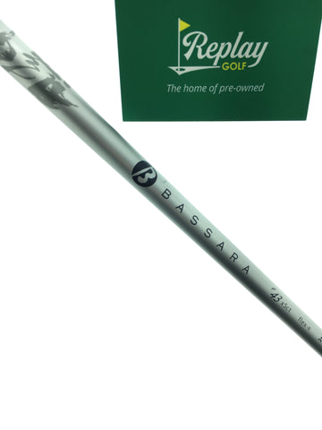 Mitsubishi Bassara F43 Driver Shaft / Regular Flex / Taylormade Adapter - Replay Golf