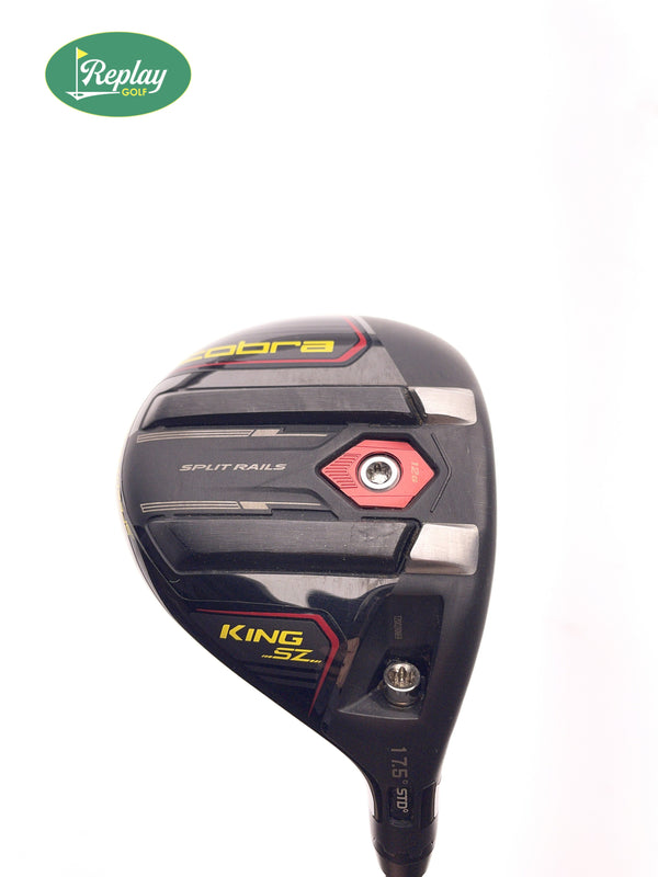 Cobra KING Speezone TOUR 5 Wood / 17.5 Degree / Atmos Black Tour Spec 7X - Replay Golf