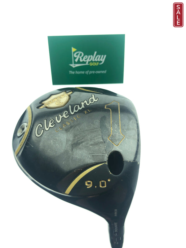 Cleveland Classic XL Driver / 9.0 Degrees / Miyazaki Tour Issue 6S Stiff Flex - Replay Golf