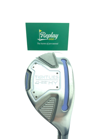 Adams Ladies Tight Lies 4 Hybrid / 22 Degrees / Kuro Kage Ladies Flex - Replay Golf