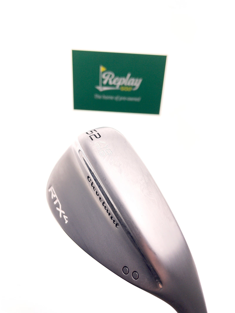 Cleveland RTX 4 Gap Wedge / 52 Degree / Dg Tour Issue S400 Stiff Flex / -1 Inch - Replay Golf