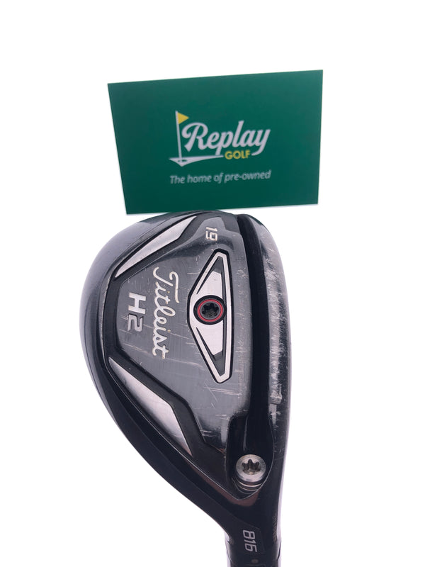 Titleist 816 H2 3 Hybrid / 19 Degrees / Diamana S+70 Stiff Flex - Replay Golf