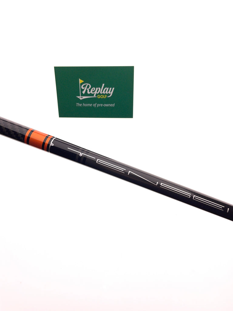 Mitsubishi Tensei Orange 60 S Driver Shaft / Stiff Flex / Ping G410 Adapter - Replay Golf