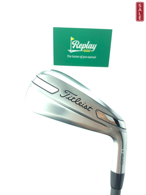 Titleist U510 4 Utility Iron / 22 Degrees / Project X HZRDUS Smoke 5.5 Regular Flex - Replay Golf