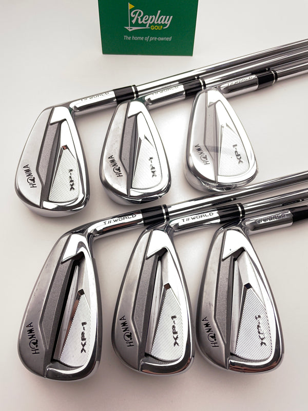 Honma XP-1 Iron Set / 5 - 10 / N.S Pro Zelos For T World  Regular Flex - Replay Golf