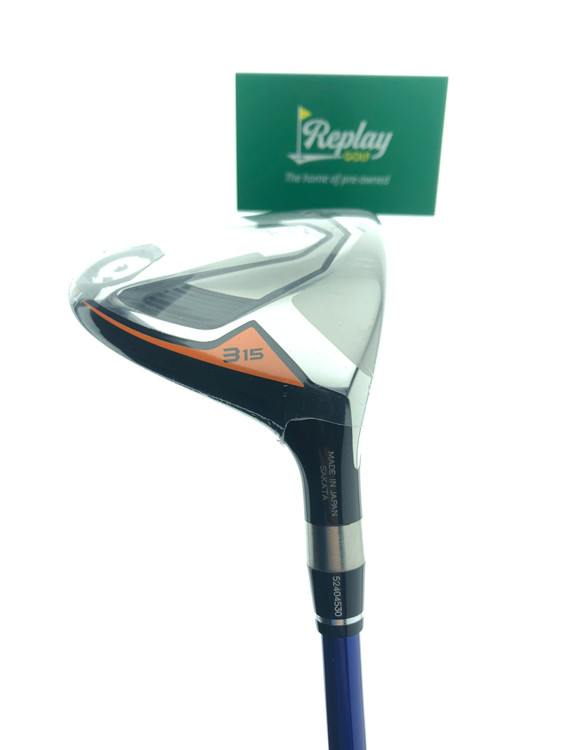 NEW Honma TW747 3 Fairway Wood / 15 Degrees / VIZARD FP-6S Stiff Flex - Replay Golf