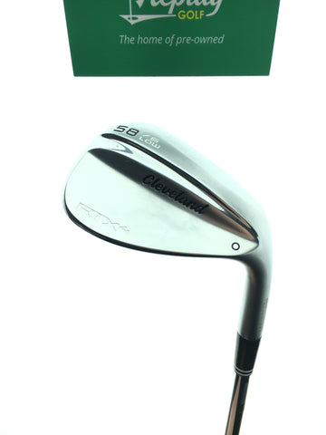 Cleveland RTX 4 Tour Satin Lob Wedge / 58 Degree / Dynamic Gold Tour Issue Stiff - Replay Golf