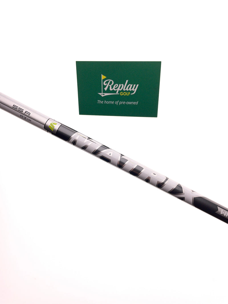 Matrix White Tie MFS X5 55R Driver Shaft / Regular Flex / Taylormade Adapter - Replay Golf
