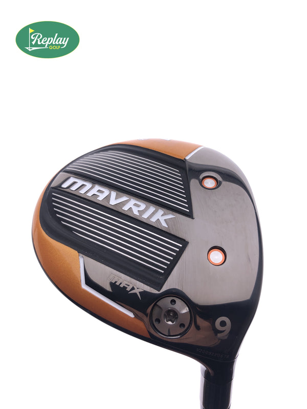 Callaway Mavrik Max 9 Fairway Wood / 23 Degrees / UST Helium Black 5F2 A-Flex - Replay Golf