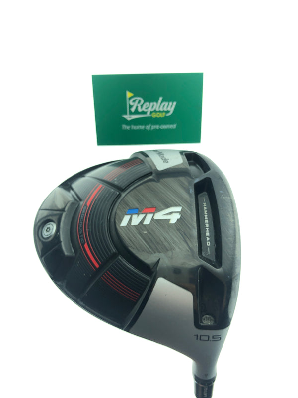 TaylorMade M4 Driver / 10.5 Degrees / Fubuki K60 Stiff Flex - Replay Golf