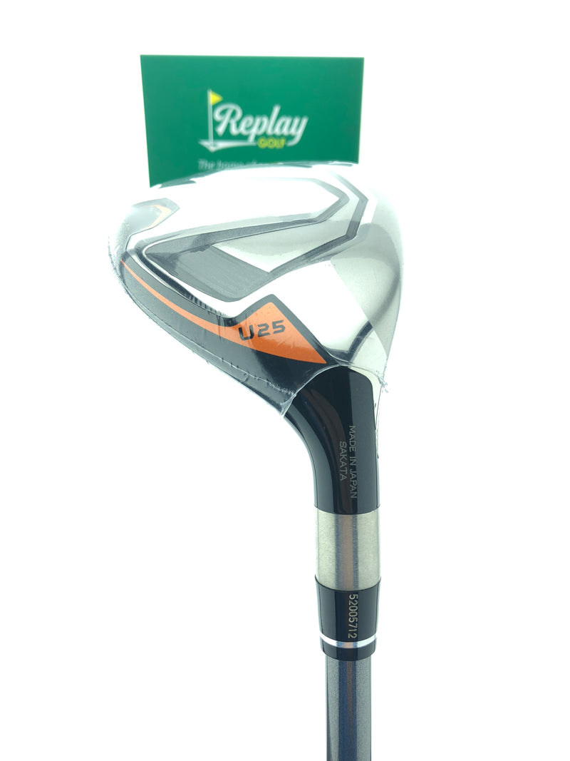 NEW Honma TW747 Utility 5 Hybrid / 25 Degrees / Vizard For TW747 Regular Flex - Replay Golf