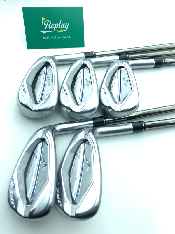 Mizuno JPX 900 Hot Metal Iron Set / 6-PW / UST Recoil F0 Ladies Flex - Replay Golf