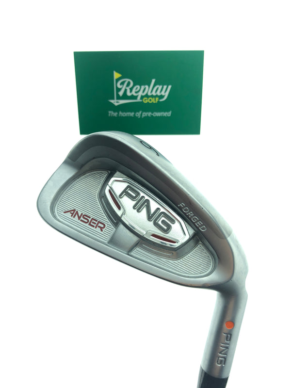 Ping Anser Forged 2010 6 Iron / 30 Degrees / Ping Cushin Stiff Flex - Replay Golf
