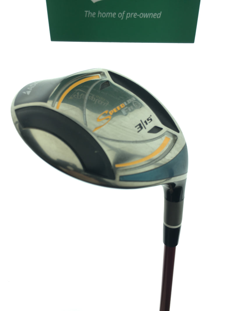 Adams Speedline F11 Titanium 3 Fairway Wood / 15 Degrees / Matrix XCON-7.1 Stiff - Replay Golf