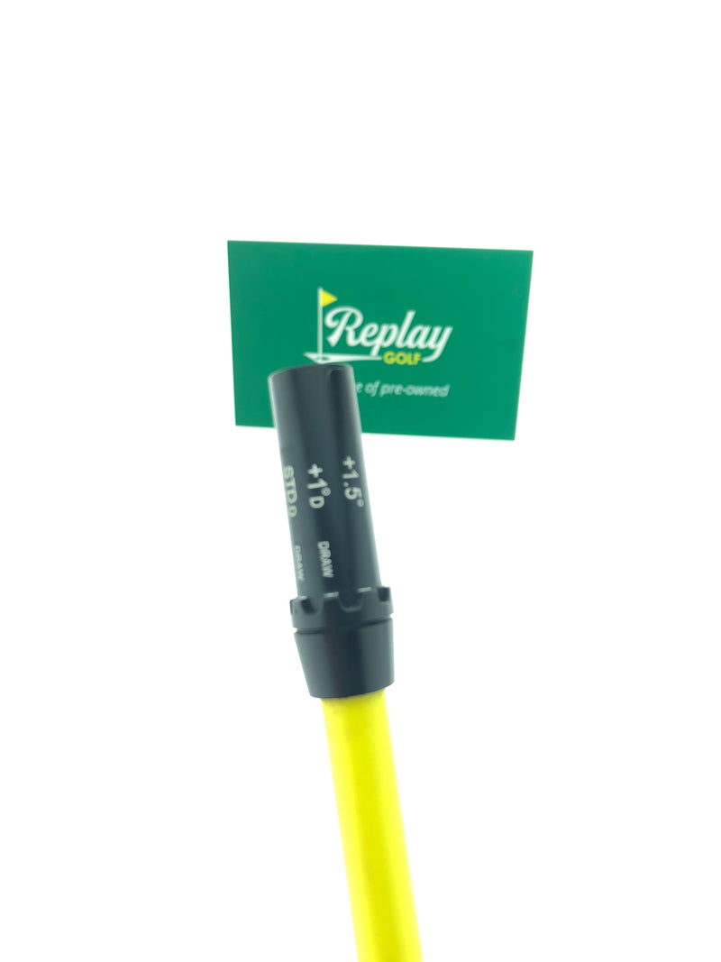 Project X HAND CRAFTED HZRDUS Yellow 6.0 Driver Shaft / Stiff Flex / Cobra Tip - Replay Golf