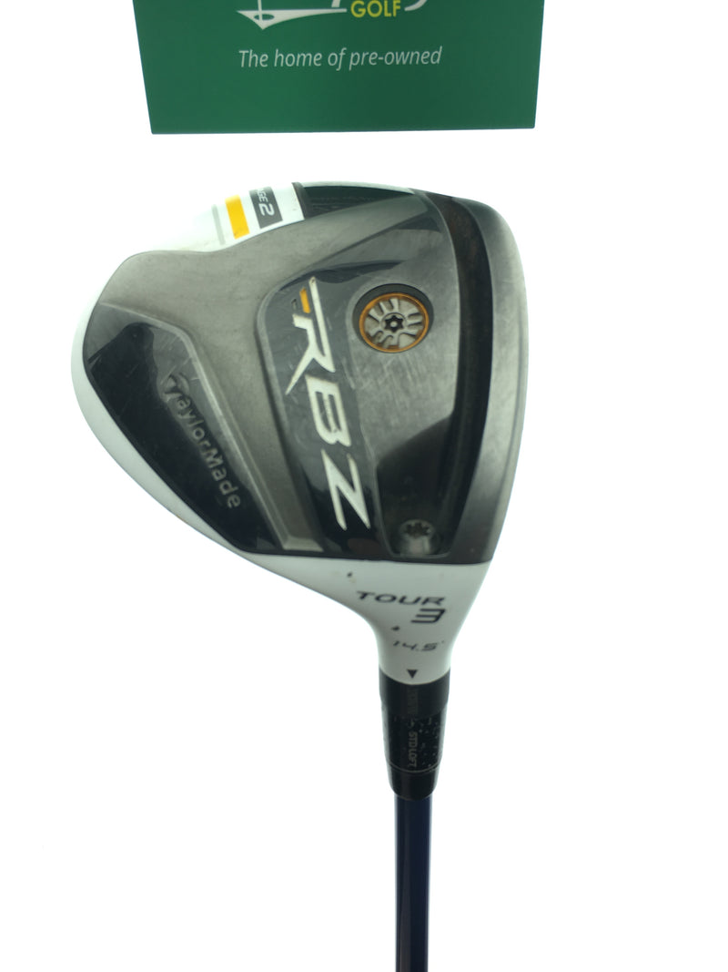 TaylorMade RocketBallz Stage 2 Tour 3 Fairway / 14.5 Degrees / UST MP5  52g Stiff - Replay Golf